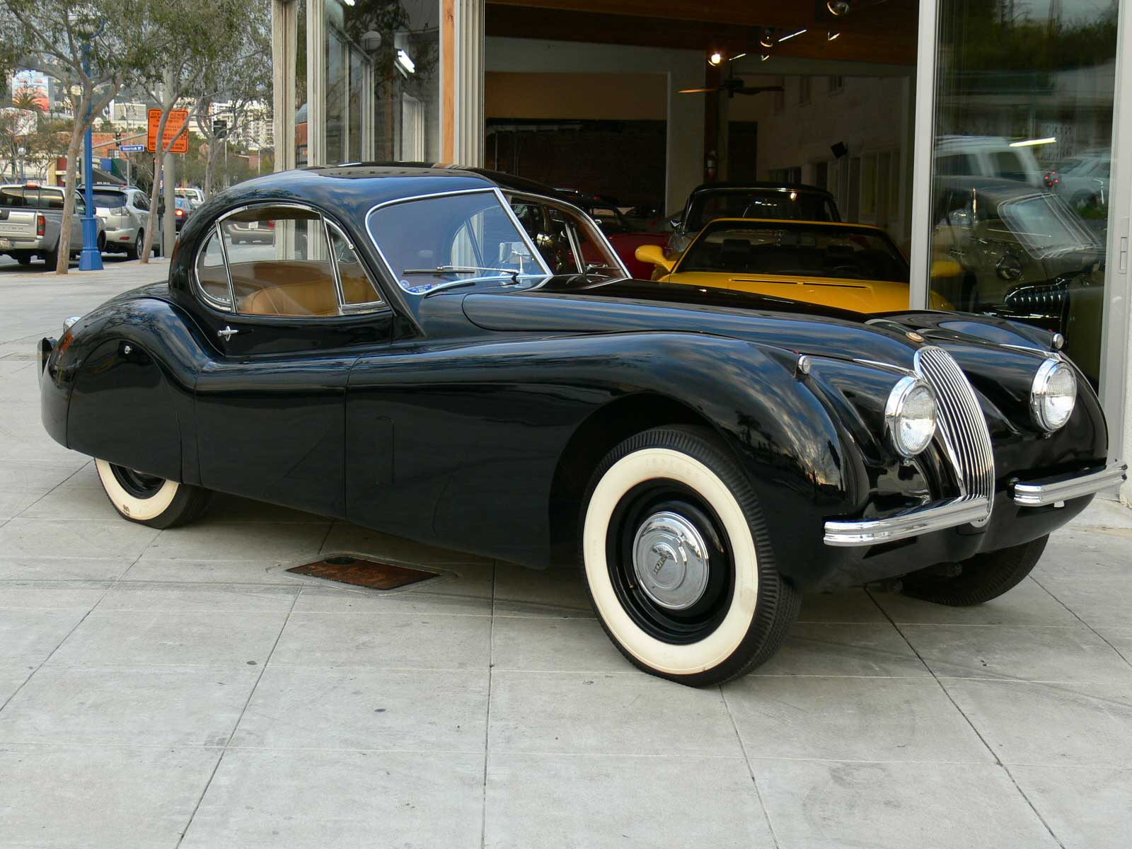 Jaguar xk-120 photo - 1