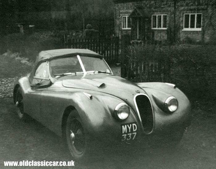 Jaguar xk-120 photo - 2