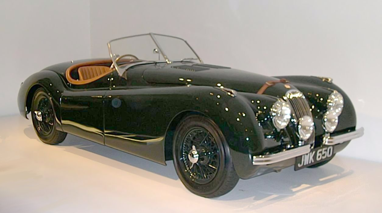 Jaguar xk-120 photo - 4
