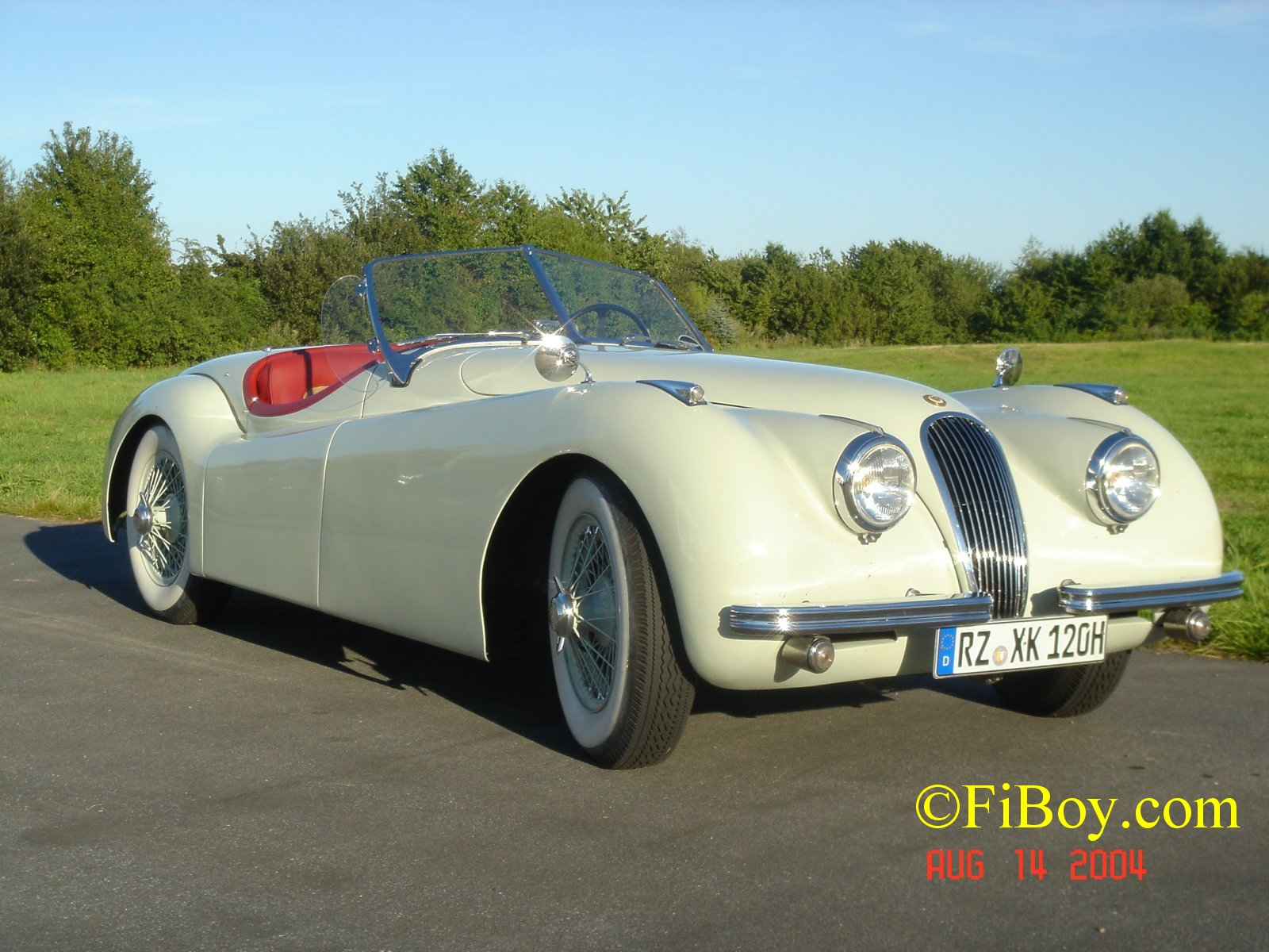 Jaguar xk120 photo - 2