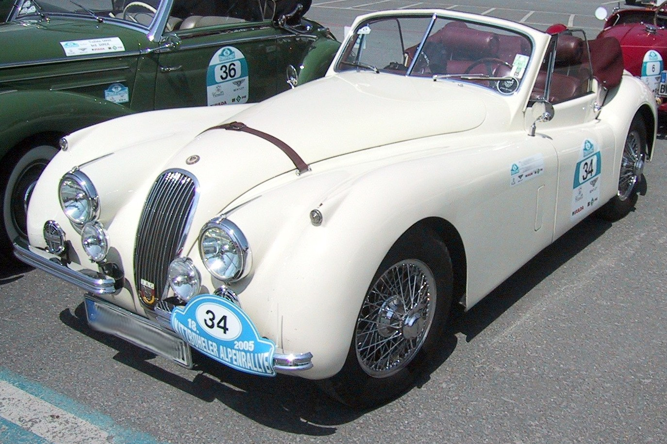 Jaguar xk120 photo - 4