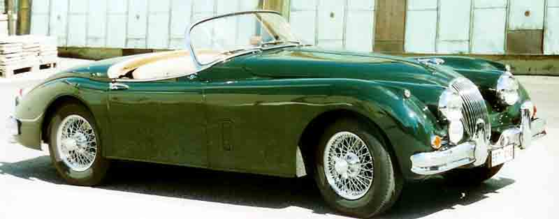 Jaguar xk150 photo - 1