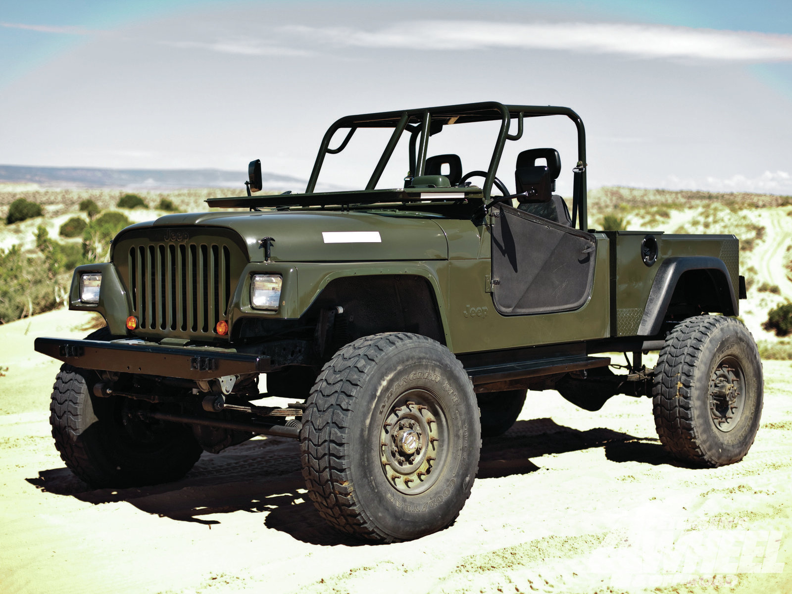 Jeep cj-10a photo - 4