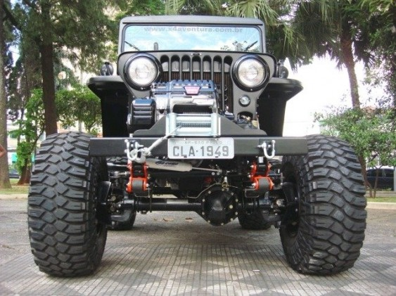 Jeep cj-3a photo - 3