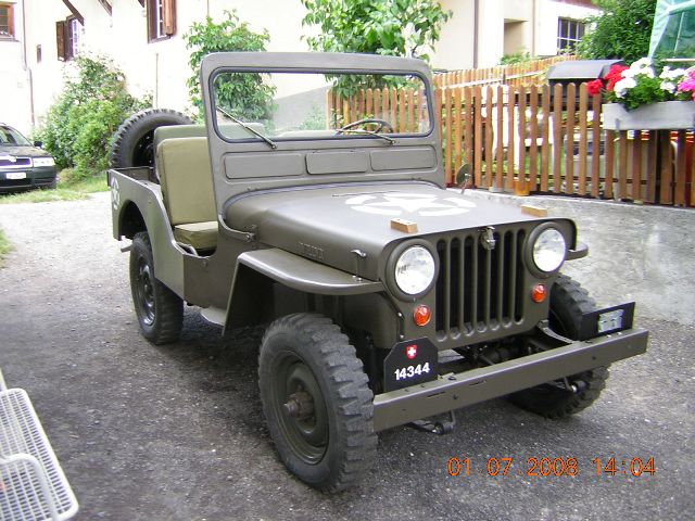 Jeep cj3a photo - 4