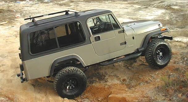 Jeep scrambler photo - 1