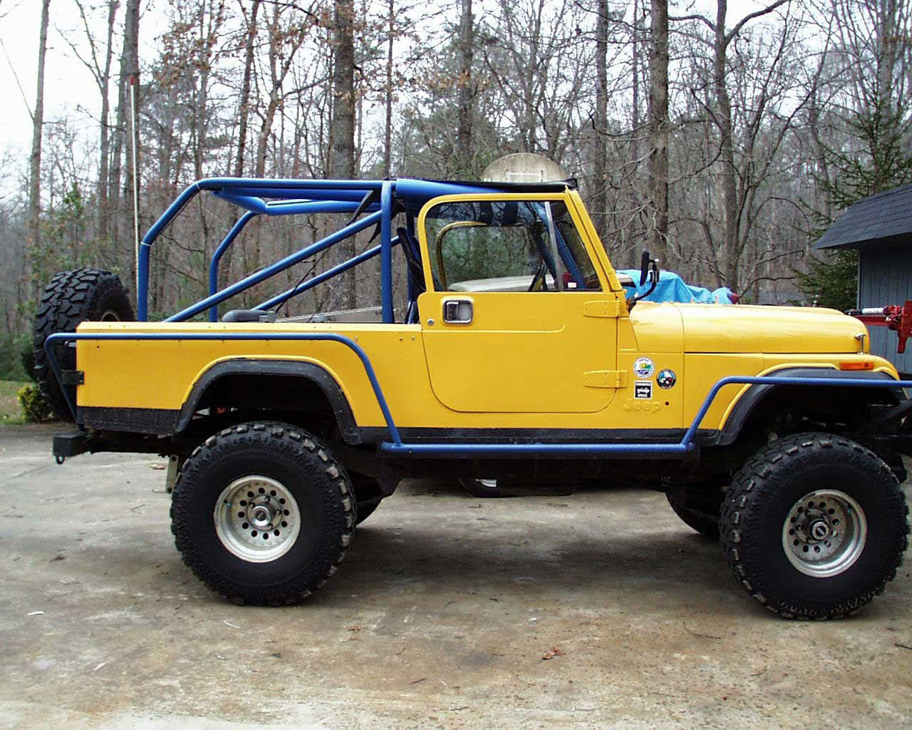 Jeep scrambler photo - 2