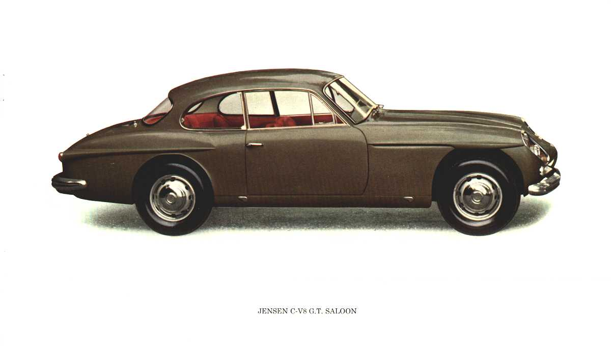 Jensen cv8 photo - 1