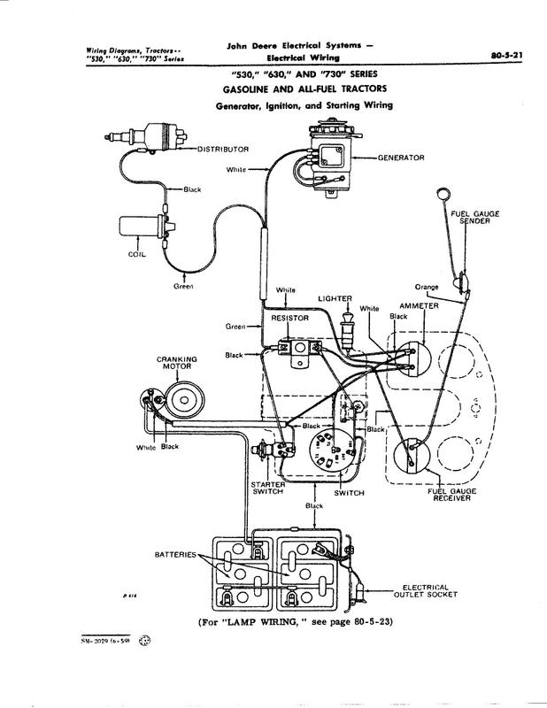 Wiring Diagram For John Deere 4010 Diesel on 1949 ford tractor wiring diagram
