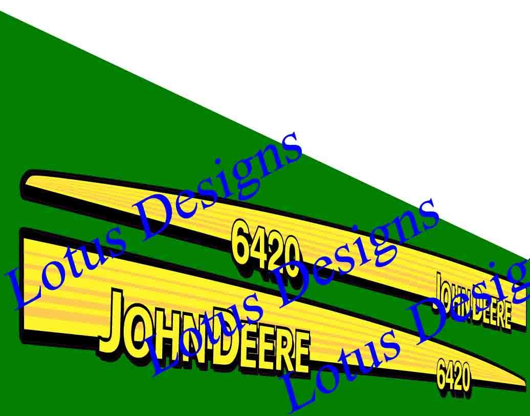 John deere 6020-series photo - 1
