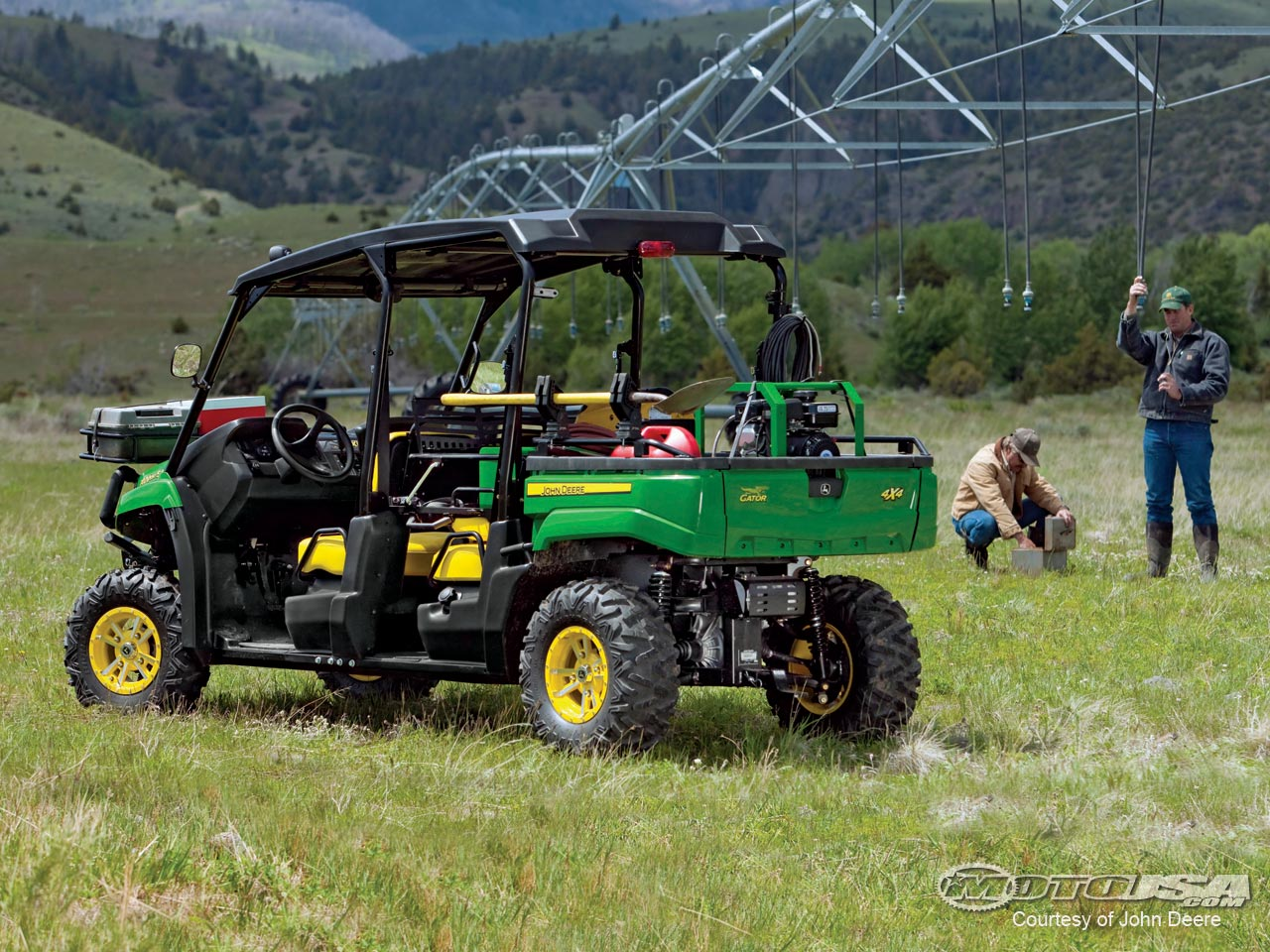 John deere gator photo - 4