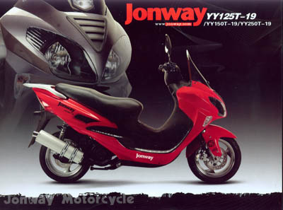 Jonway 125 photo - 1