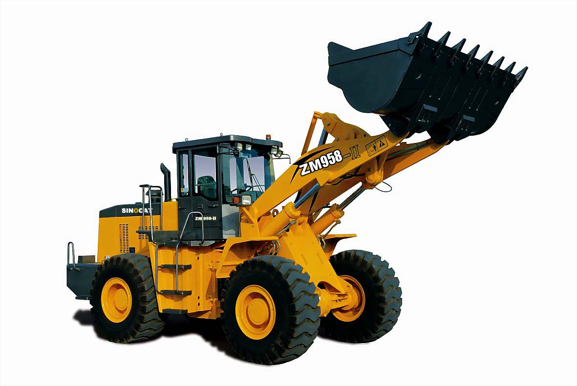 Kawasaki loader photo - 1