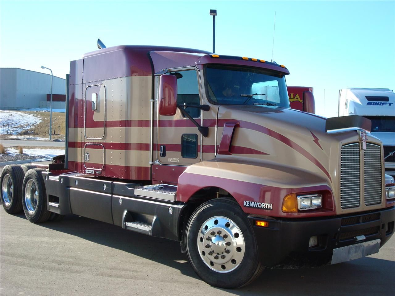 Kenworth t600b photo - 1