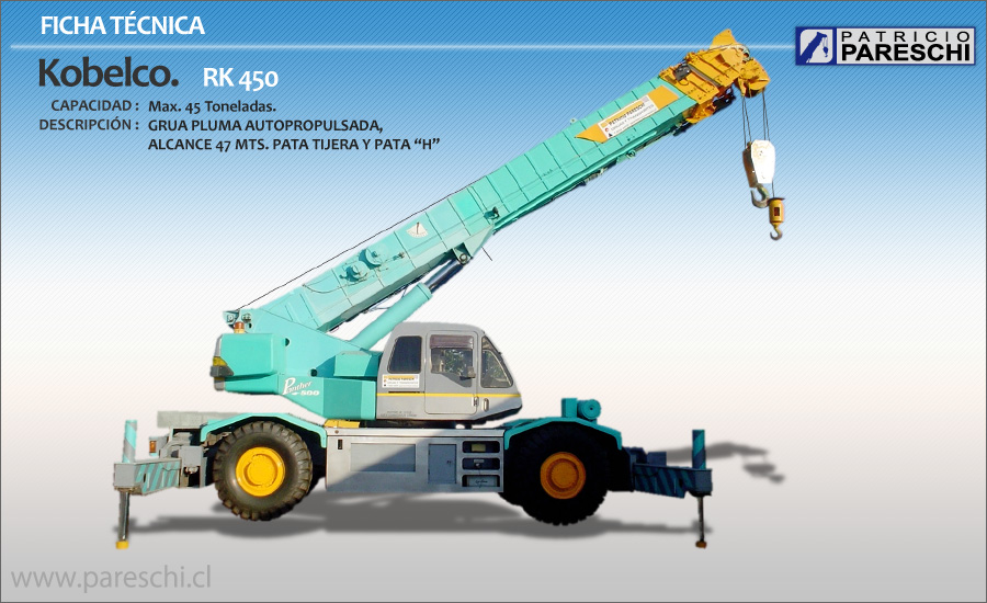 Kobelco rk-450 photo - 1