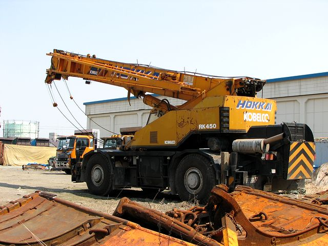 Kobelco rk-450 photo - 2