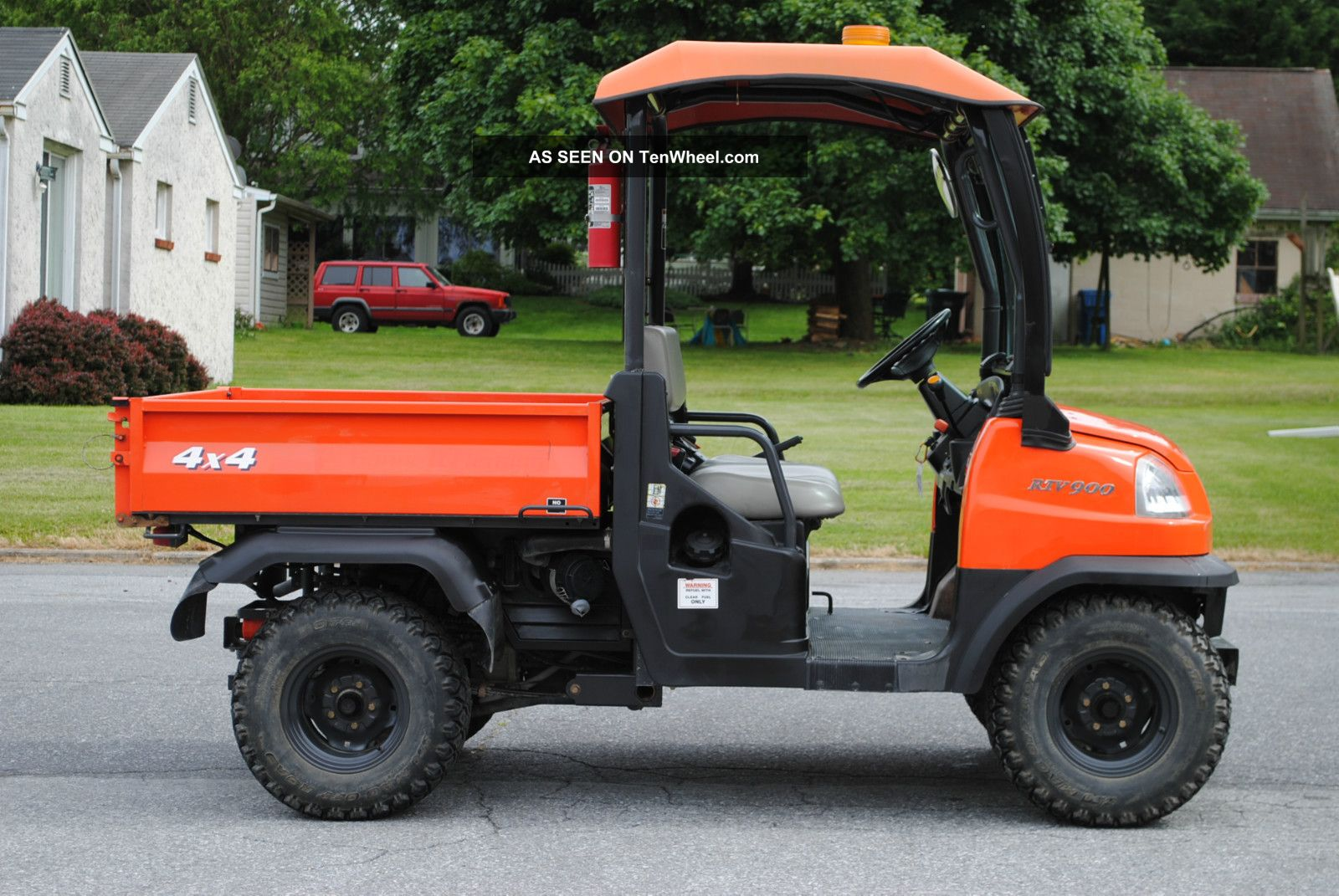 Kubota rtv-900 photo - 4