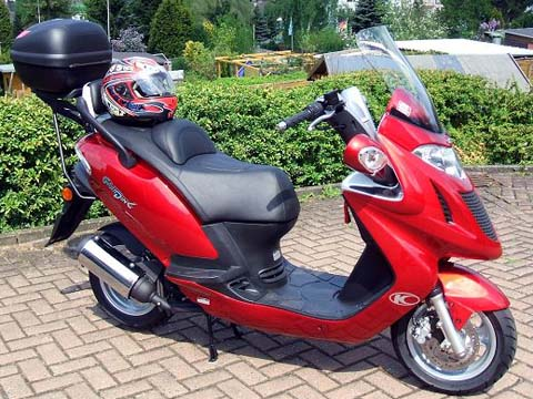 Kymco yager photo - 2