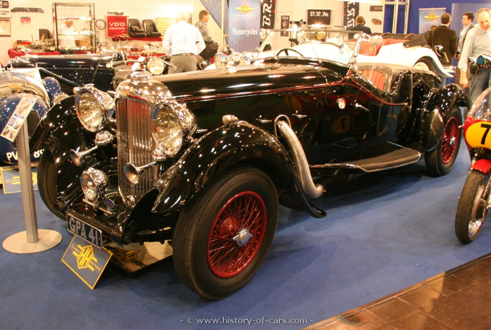 Lagonda lg45 photo - 4