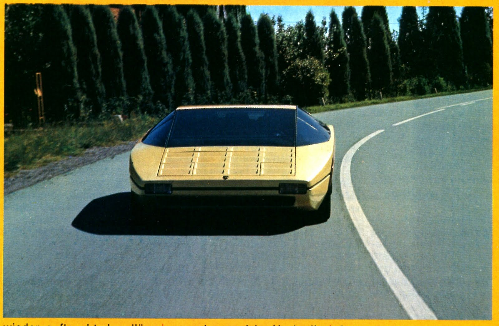 Lamborghini bravo photo - 1