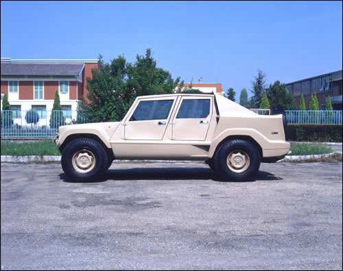 Lamborghini lm-001 photo - 1