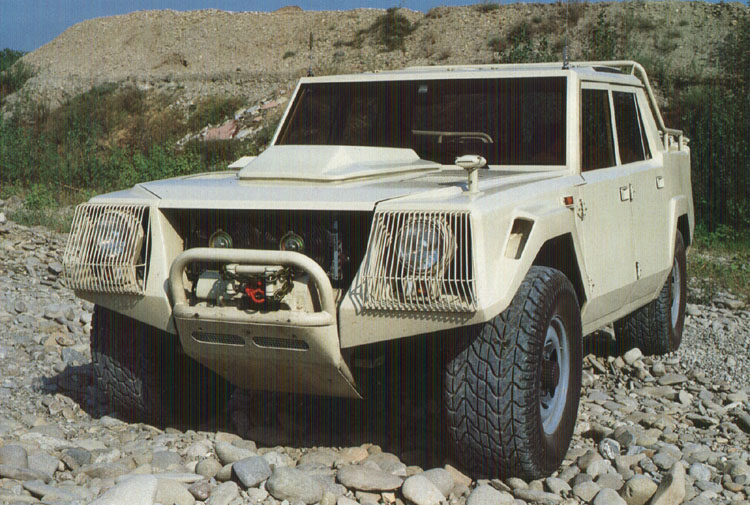 Lamborghini lm-004 photo - 2