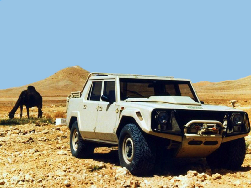 Lamborghini lm-004 photo - 4