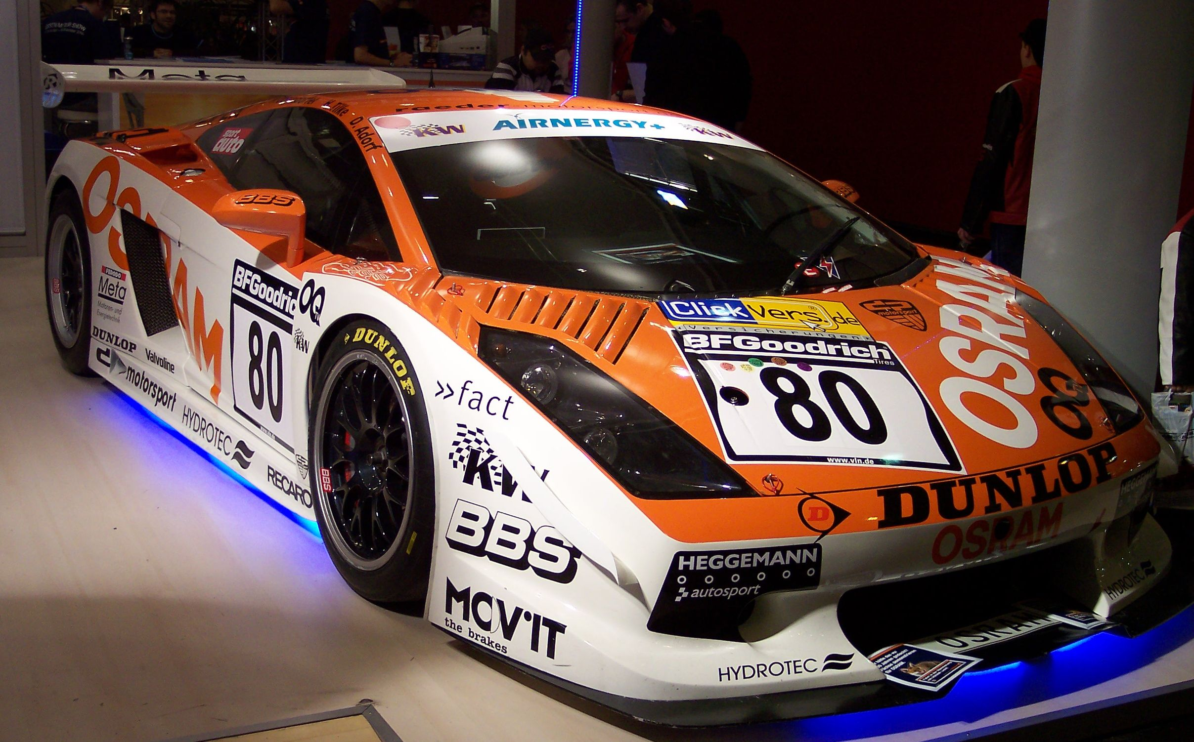 Lamborghini racing photo - 4