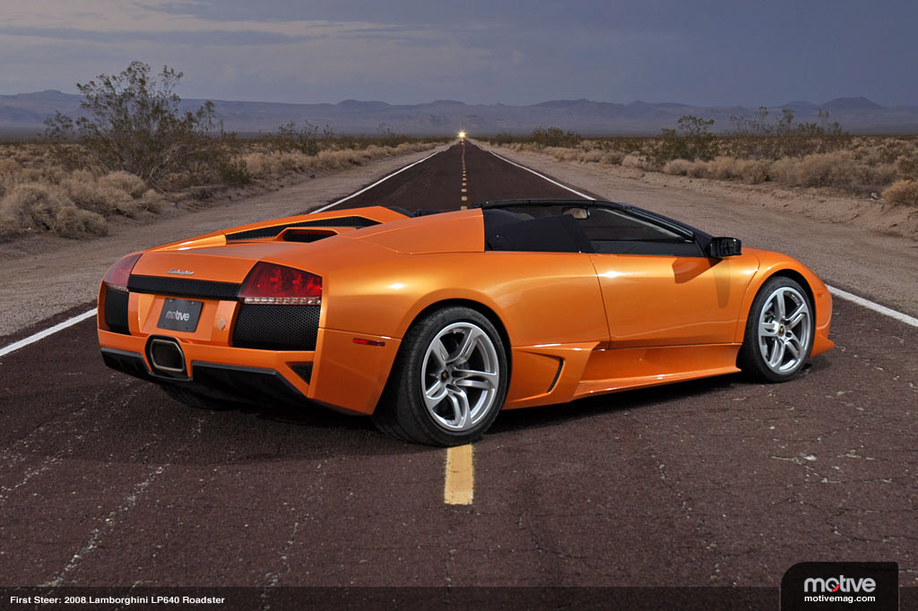 Lamborghini roadster photo - 2