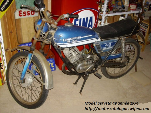 Lambretta serveta photo - 3