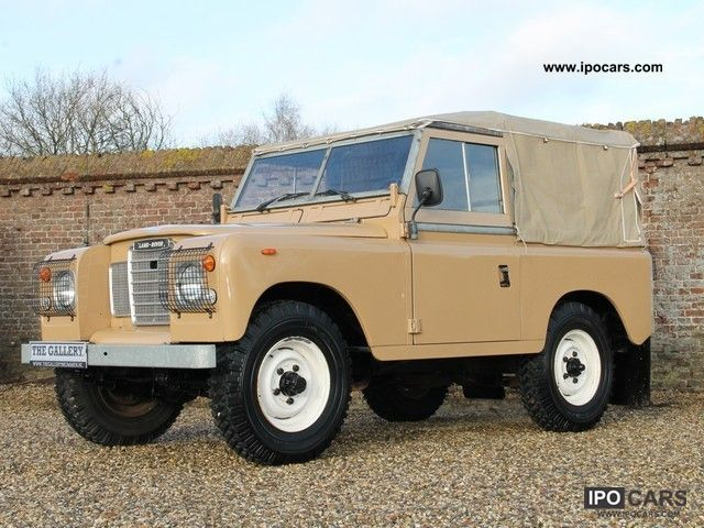 Land rover 88 photo - 2