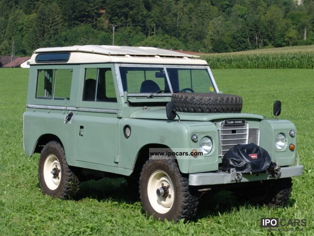Land rover 88 photo - 3
