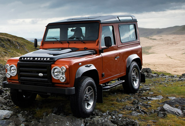 Land rover defender photo - 2