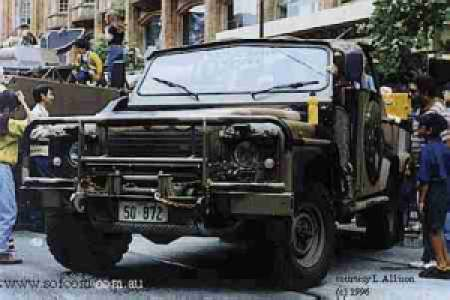 Land-rover perentie photo - 4