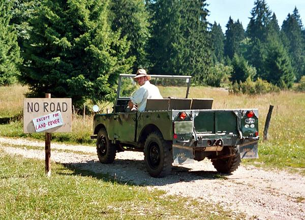 Land rover serie photo - 2
