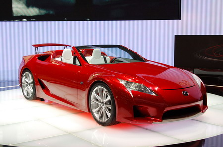 Lexus lf-c photo - 1