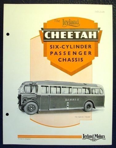 Leyland cheetah photo - 3