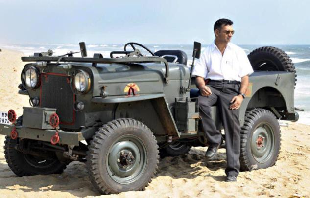 Mahindra cj-3b photo - 1