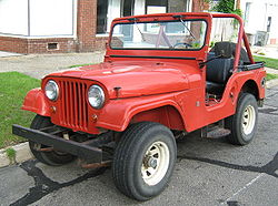 Mahindra cj-3b photo - 4