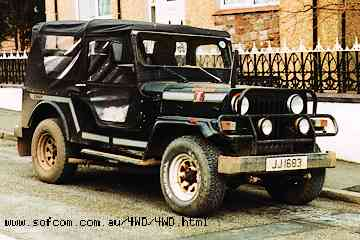 Mahindra jeep photo - 1