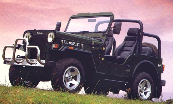Mahindra jeep photo - 2
