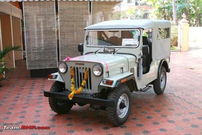 Mahindra jeep photo - 4