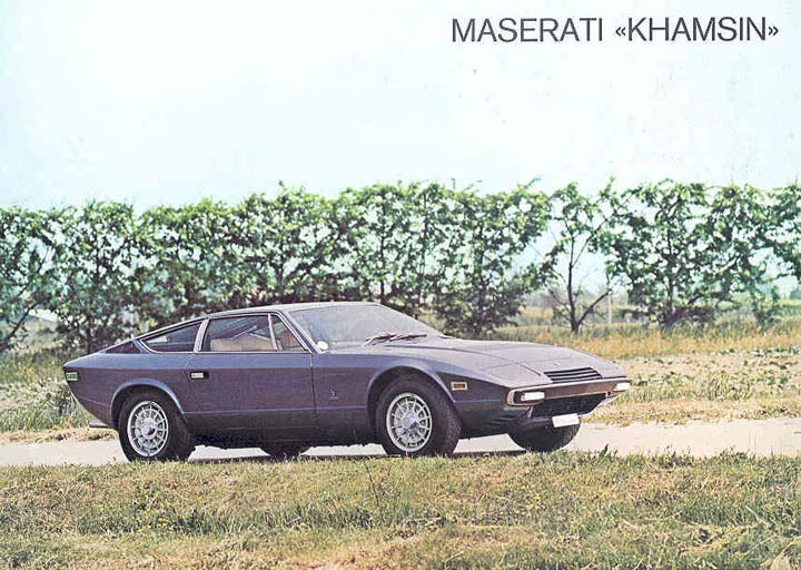Maserati khamsin photo - 2