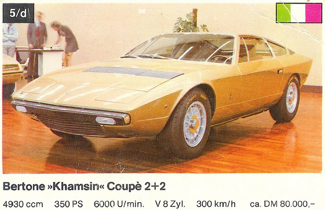 Maserati khamsin photo - 3