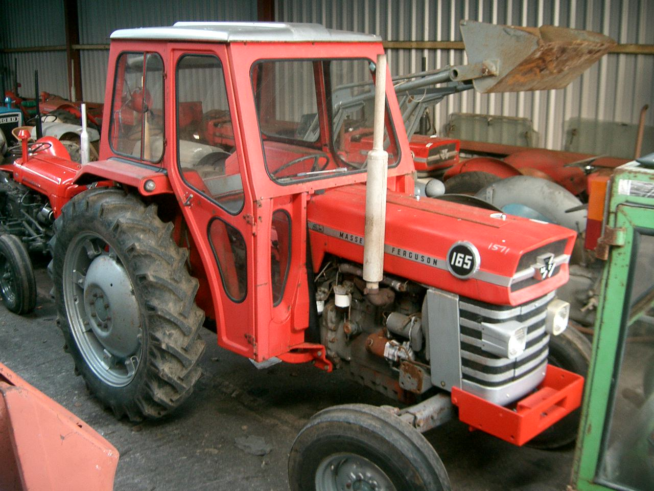 Massey ferguson 165 photo - 1