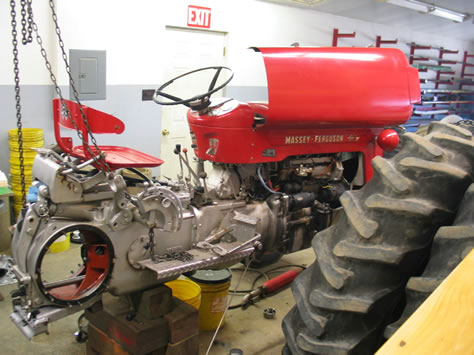 Massey ferguson 65 photo - 1