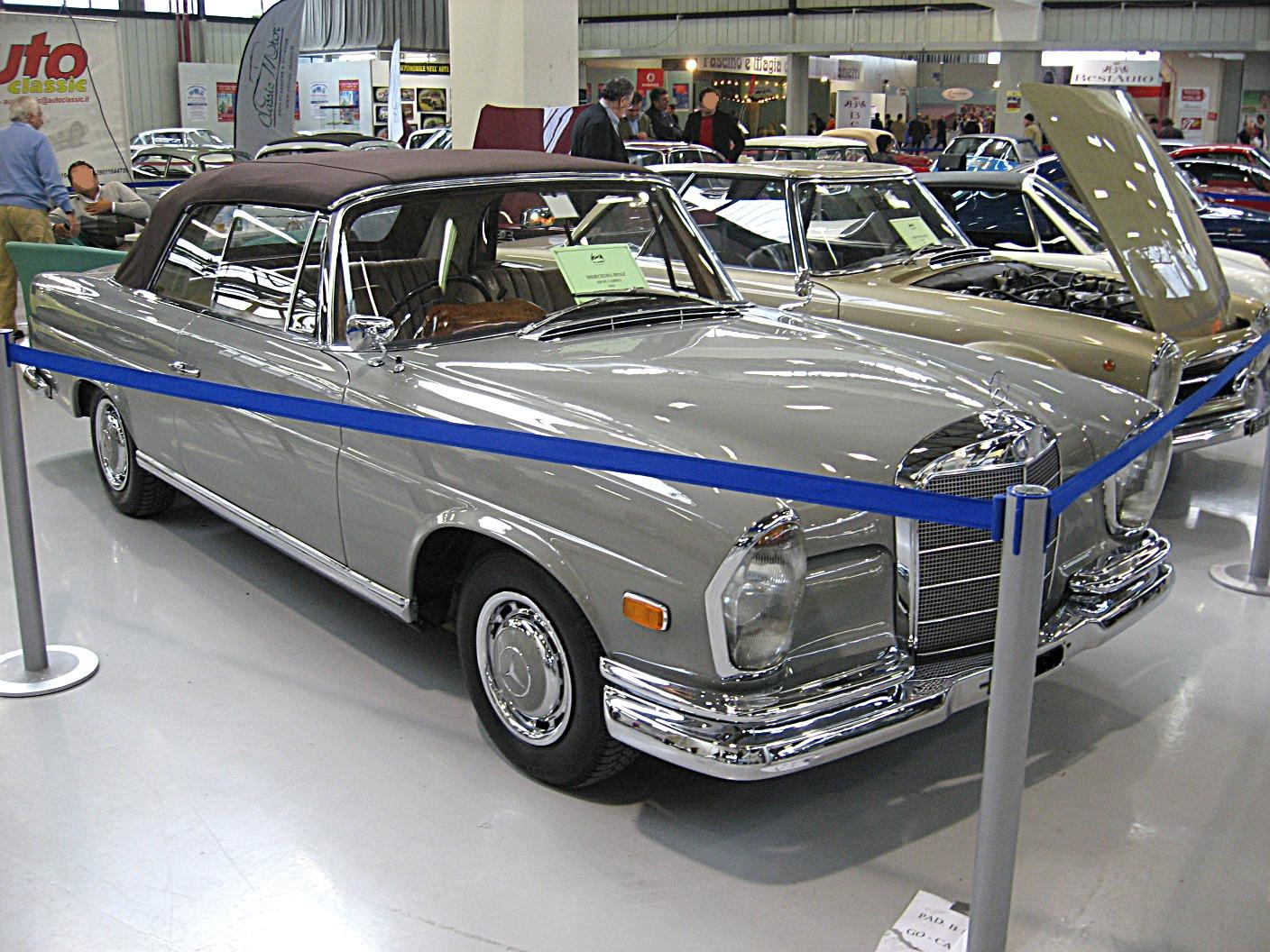 Mercedes-benz 220se photo - 1