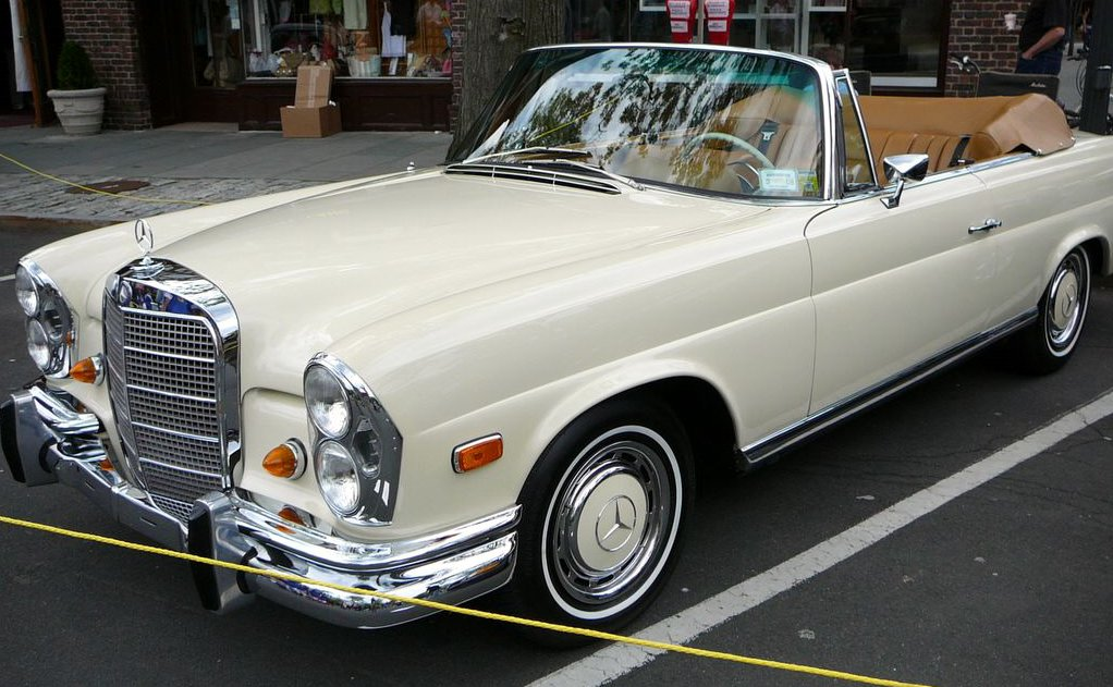 Mercedes benz 280se photo - 1