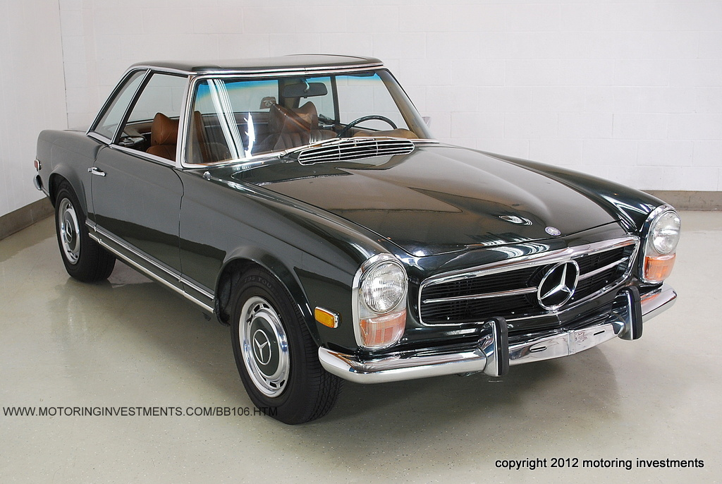 Mercedes-benz 280sl photo - 2