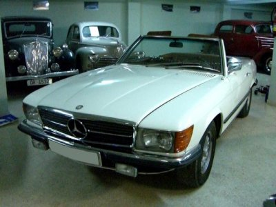 Mercedes-benz 350sl photo - 2